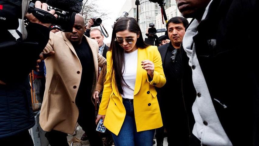 Photo of Esposa del Chapo Guzmán fue arrestada en EE.UU por delitos de narcotráfico