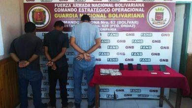"""Photo of GNB capturó a integrante de la banda """"Los Brasileros"""" por tráfico de personas en Bolívar"""