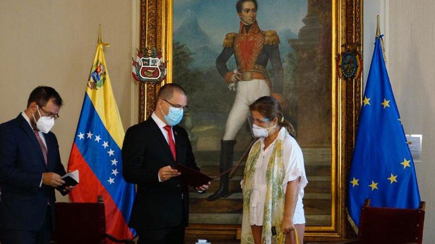 Photo of Gobierno otorgó 72 horas a embajadora de la UE para abandonar el país
