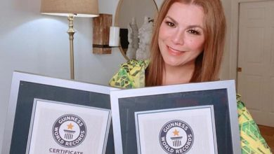 Photo of Olga Tañón gana Records Guinness por su 48° Premio Lo Nuestro