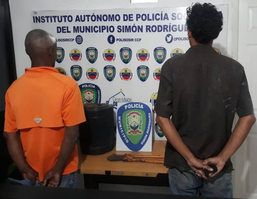 Photo of Polisosir capturó a dos delincuentes por hurto en una vivienda