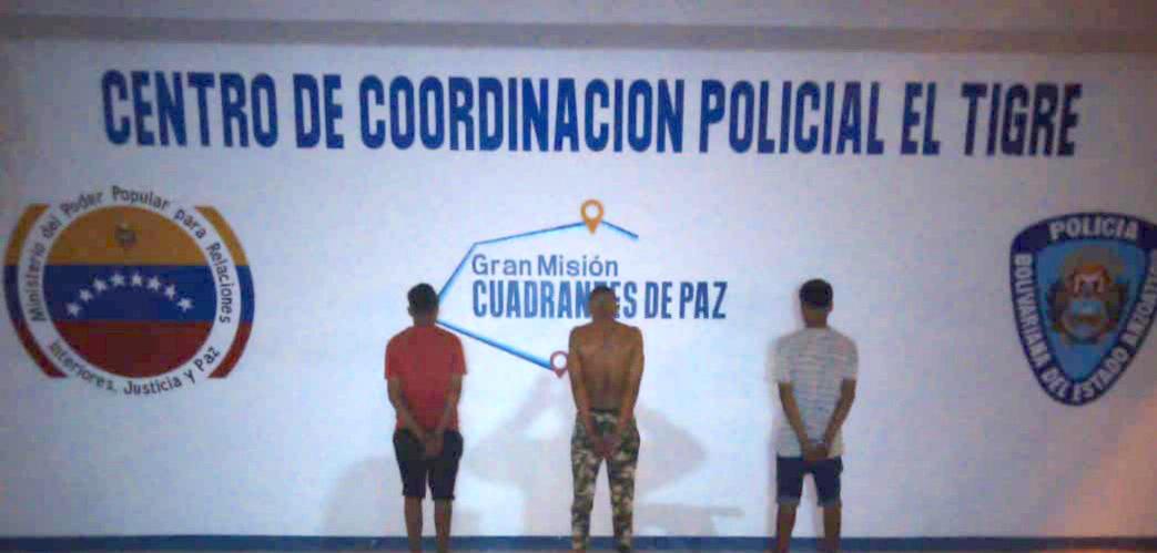 Photo of Trío hamponil detenido por robo a mano armada