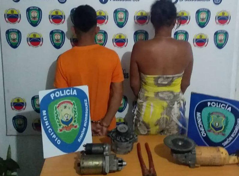 Photo of Polisosir detuvo a pareja por hurto en una vivienda