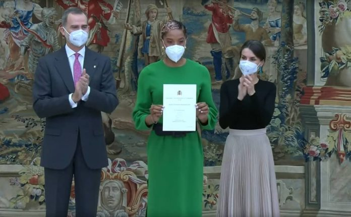 Photo of Yulimar Rojas recibió el Trofeo Comunidad Iberoamericana de los Reyes de España